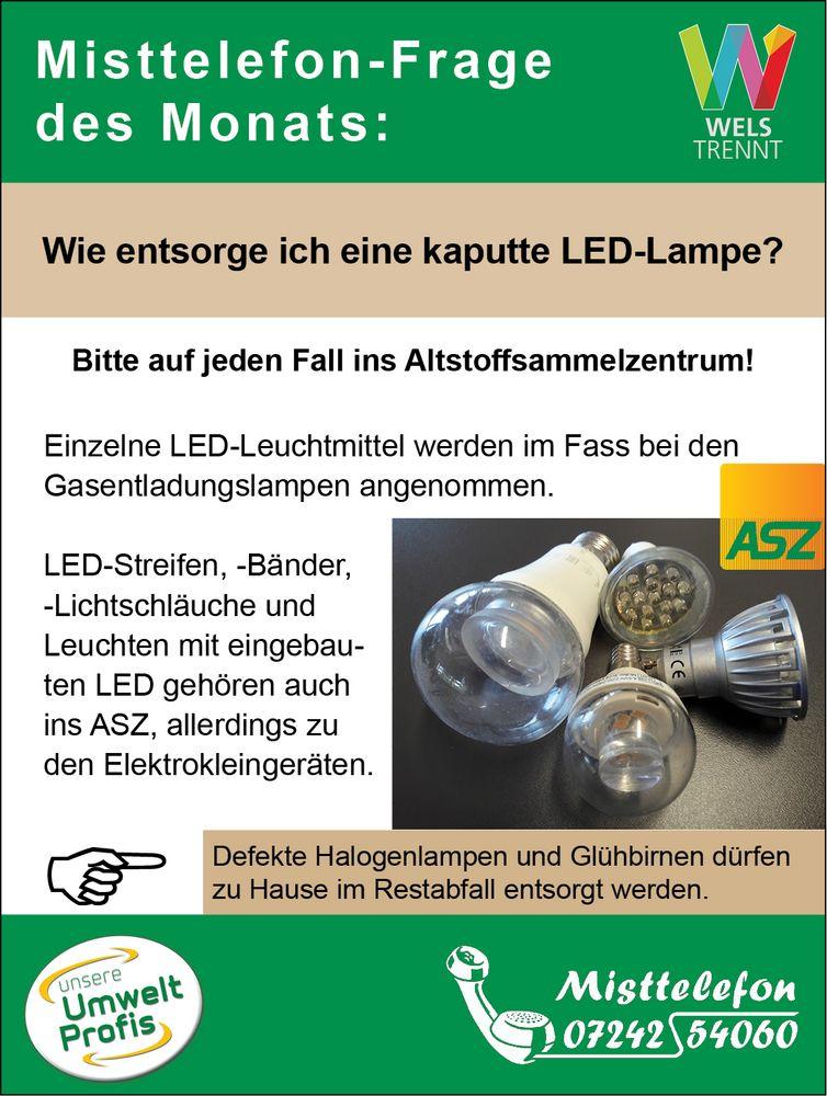 haltbarkeit von led lampen